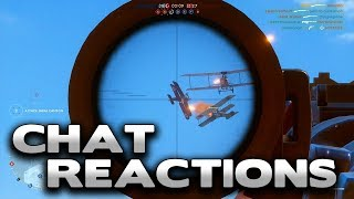 """Battlefield 1 """"streamers that run aimbots..."""" - Chat Reactions"""