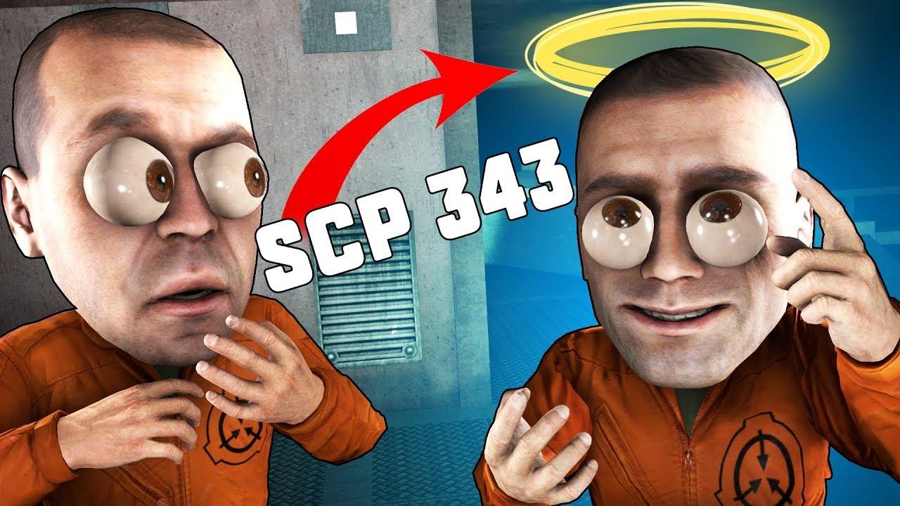 СТАЛ SCP-343 (БОГ) В SCP: SECRET LABORATORY!