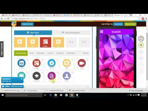 Simple And Easy Create ios ,android, pc ,blackberry Apps Online