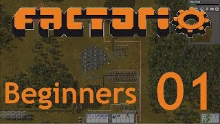 Factorio (0.14) | Let's Play Beginners Guide - 01 - Power Generation