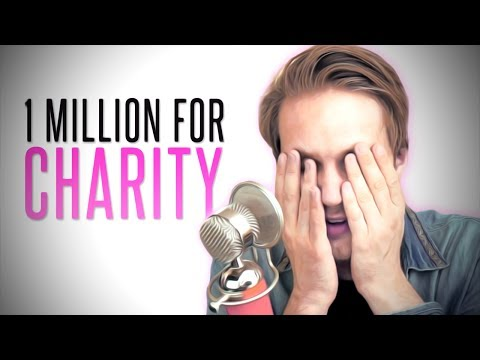 1 MILLION $ FOR CHARITY!