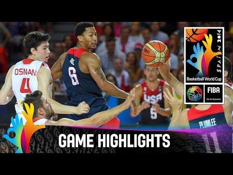Turkey v USA - Game Highlights - Group C - 2014 FIBA Basketball World Cup