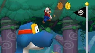 Newer Super Mario Bros. DS -  Dorrie's Island (Complete World 3)