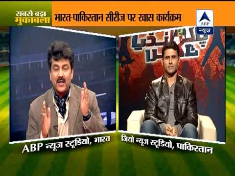ABP News and Geo News hold special programme on Indo-Pak series