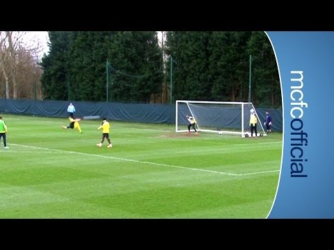 JOVETIC OVERHEAD KICK | Stevan Jovetić training ground goal