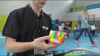 Official Rubik's Cube Average: 8.06 (with 6.40 Single)