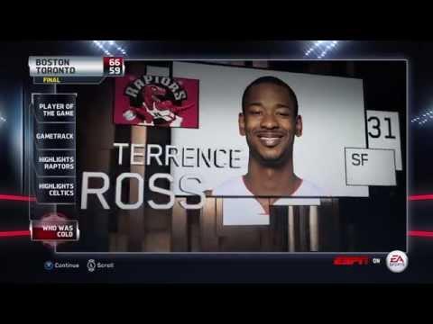 NBA 2015 - Toronto Raptors vs Boston Celtics - Post Highlights - NBA LIVE 15 PS4 - HD