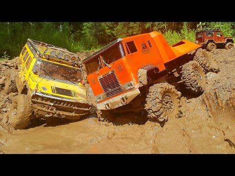 RC Extreme Pictures — RC Cars OFF Road 4x4 Adventure – MUD Hummer vs Defender vs Beast 6x6