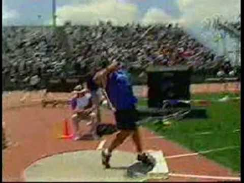 how to teach the spin shot put
