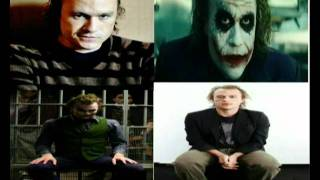 Heath Ledger voz original del joker