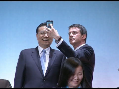 Chinese Premier Assures French Businesses of China's Economic Prospect