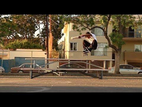 OSCAR GROENBAEK - Kickflip Two Benches from flat RAW