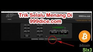 Trik Main 999dice Selalu Menang  di Jamin 100  Wor