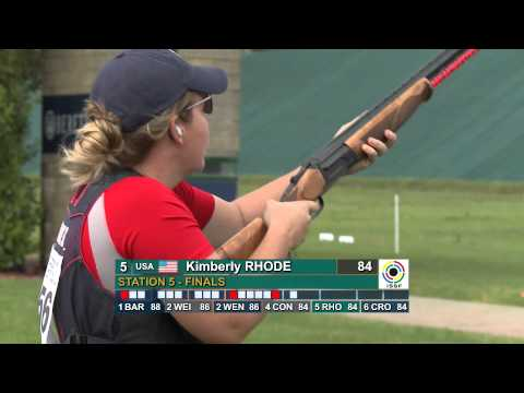 Finals Skeet Women - ISSF Shotgun World Cup 2012, Lonato (ITA)