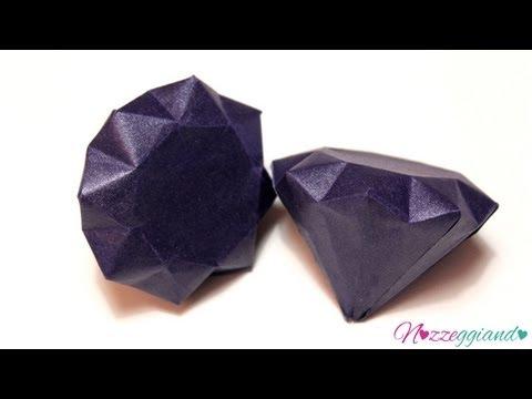 Tutorial per bomboniere-diamante fai da te