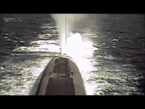 Американская подлодка Кентукки. Пуск межконтинентальной баллистической ракеты.