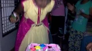My baby honey birthday cake cutting video🎂