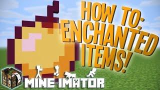 Easy Way To Make Enchanted Items Mine Imator Tutorial