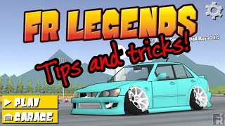 FR Legends tips and tricks