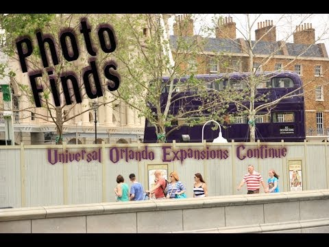 Photo Finds: Universal Orlando Expansions Continue - April 21, 2014