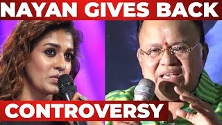 Nayanthara Reacts to the CONTROVERSY