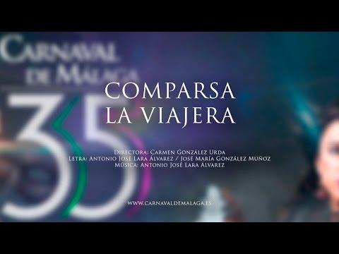 """Carnaval de Málaga 2015 - Comparsa """"La viajera"""" Semifinales"""