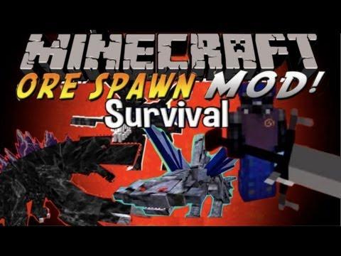 Minecraft Orespawn Mod Survival - Episode 11 - Mothra