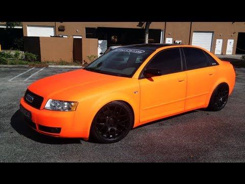 Firebelly Orange Plast Dipped Car Pro Car Kit Matte