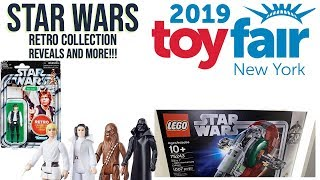 New York Toy Fair 2019 - Star Wars Retro Collection Figures, LEGO And More!!