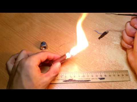 Как сделать вечную зажигалки
