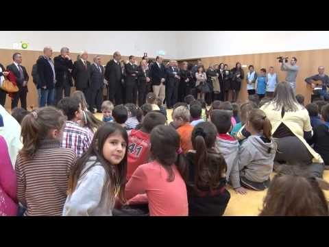Inaugura��o da Escola B�sica Ac�cio Lino Travanca 3
