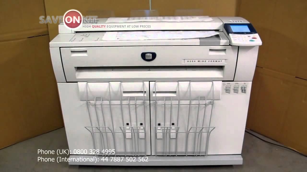 Xerox 6204 Wide Format Драйвер - absolytjizni