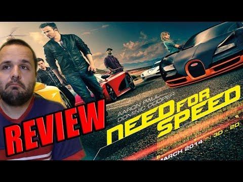 Need For Speed (2014) - Scott Waugh - Aaron Paul - Dominic Cooper - Review - Crítica De John Doe