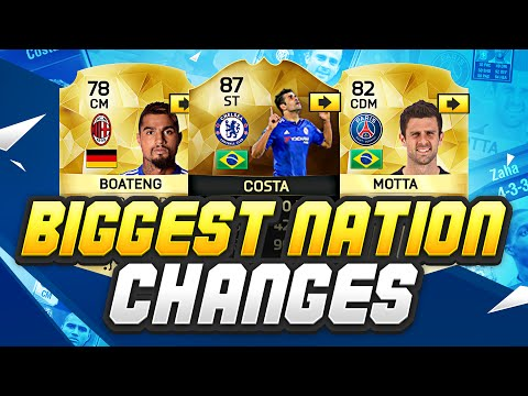 PLAYERS WHO HAVE CHANGED NATIONALITY!!