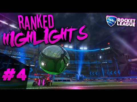 RANKED MONTAGE #4 | RANKED HIGHLIGHTS #4 | ROCKET LEAGUE