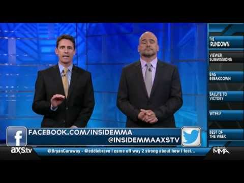 Bas Rutten Breakdown Luke Harris MFC 37 Submission AXSTV Inside MMA