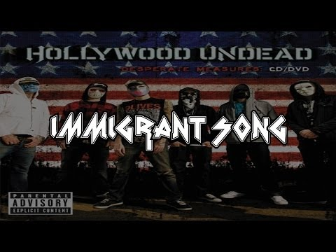Hollywood Undead - Immigrant Song (led Zeppelin Cover) [lyrics] [full Hd] video