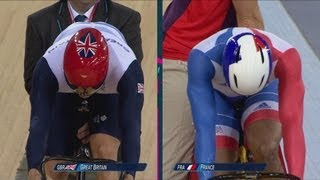 Team GB Win Cycling Team Sprint Gold - Hoy, Hindes & Kenny | London 2012 Olympics