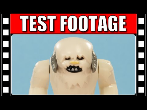 LEGO Star Wars Wampa Animation Test