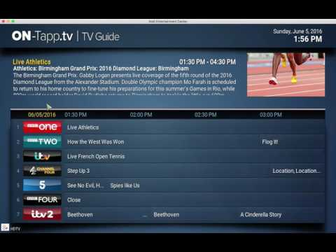On Tapp Tv New Favourite Channels Category