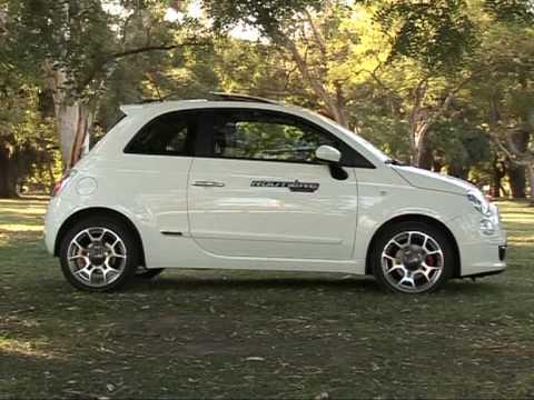 Fiat 500 Test - Routière