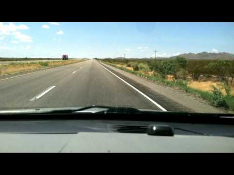 2 1/2 Hour Trip From Alamogordo NM To El Paso TX In 1 1/2 Minutes