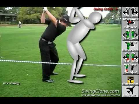 SwingClone Kinect Golf Lesson and Analysis of Rory McIlroy