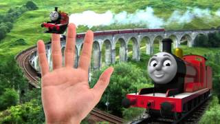 Thomas & Friends Finger Family Collection -  Nursery Rhymes Thomas & Friends