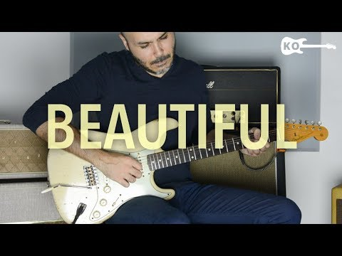 Christina Aguilera - Beautiful - Electric Guitar by Kfir Ochaion