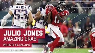 Julio Jones Makes Amazing Catch!   Patriots vs. Falcons   Super Bowl LI Highlights