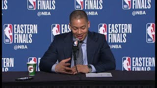 Tyronn Lue Postgame Interview - Game 6 | Cavaliers vs Celtics | May 25, 2018 | 2018 NBA East Finals