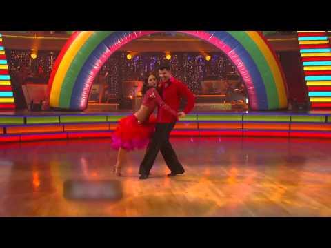 Rob Kardashian & Cheryl Burke's Samba! - Week 9 of DWTS