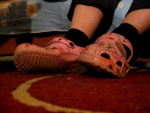 girl shoeplay with socks part two hidden camera