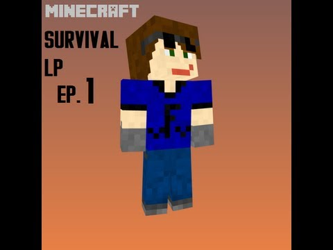 Minecraft Survival LP S2 Ep. 1 Chop'n down wood & making a home!